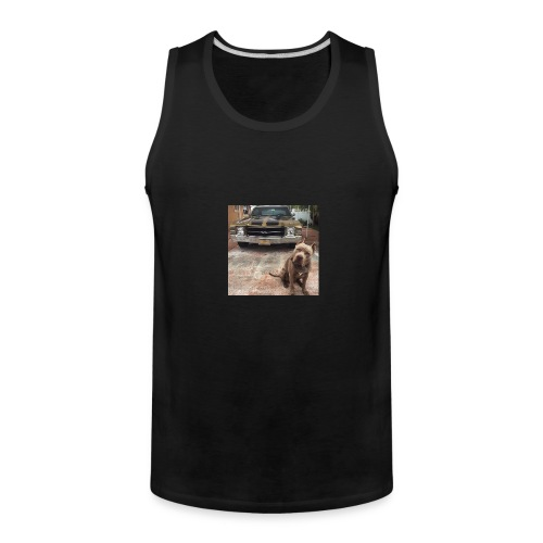 all in the muscle - Men's Premium Tank