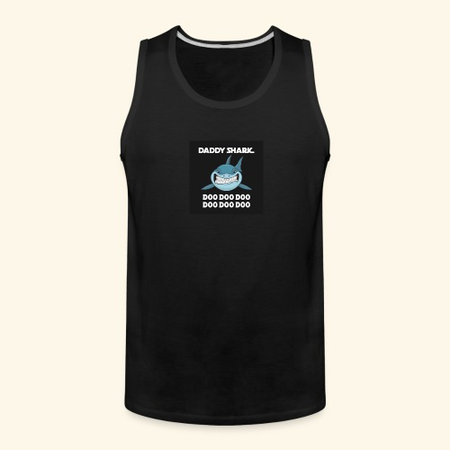 Daddy shark - Men's Premium Tank