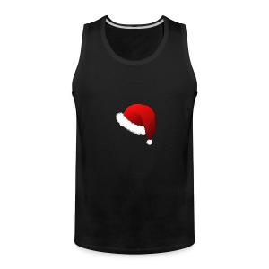 Carmaa Santa Hat Christmas Apparel - Men's Premium Tank