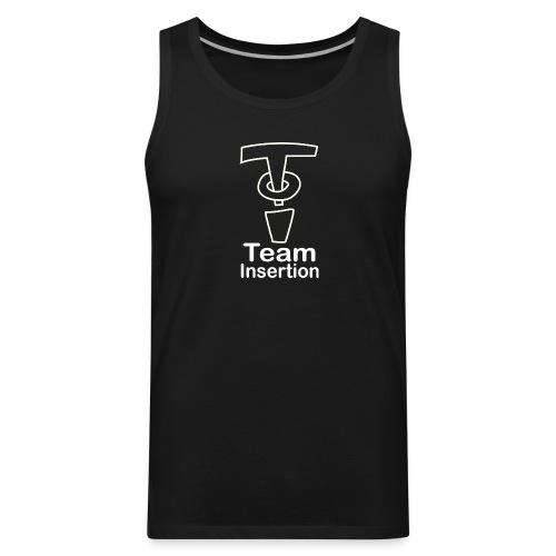 Team Insertion White - Men's Premium Tank
