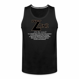 in the zone definition 1 - Men's Premium Tank