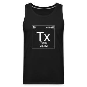 Texas Periodic Table - Men's Premium Tank