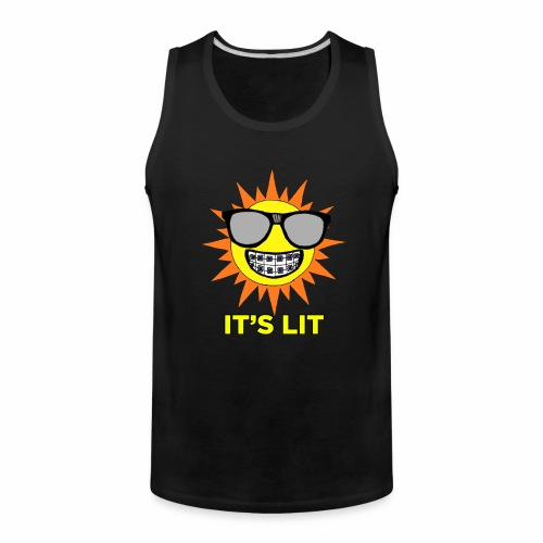 Nerdy LIt Sun - Men's Premium Tank