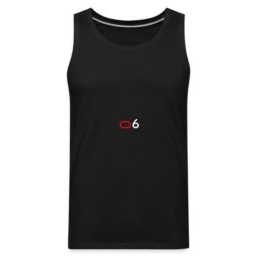 Original 6 Logo (White) - Men's Premium Tank