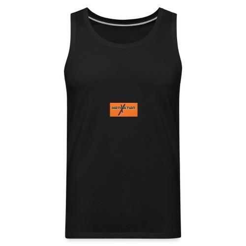 Orange phone cases - Men's Premium Tank