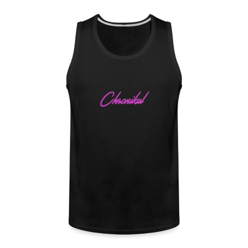 Pink Chronikal Signature - Men's Premium Tank