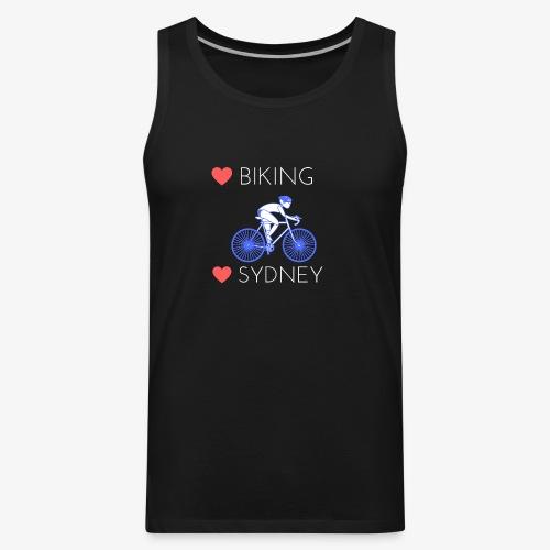 Love Biking Love Sydney tee shirts - Men's Premium Tank