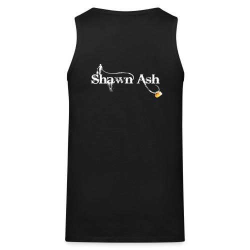 Shawn Ash No Background Logo - Men's Premium Tank