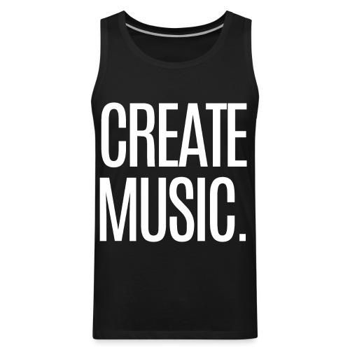 CREATE MUSIC - Men's Premium Tank