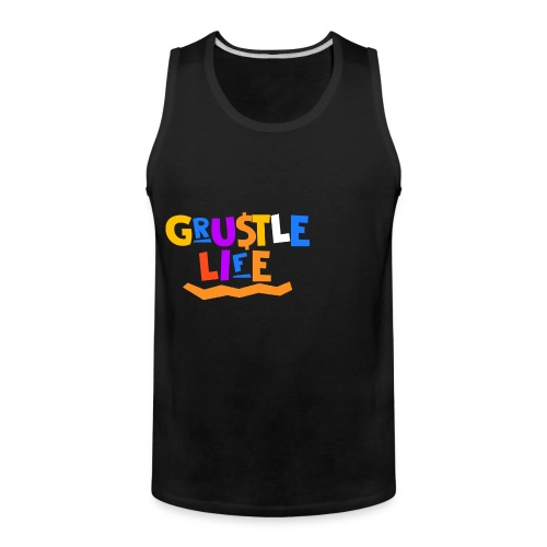 GRUSTLE LIFE MY BROTHER AND ME - Men's Premium Tank
