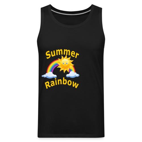 Summer Rainbow - Men's Premium Tank