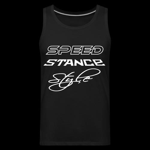 Speed stance style - Men's Premium Tank