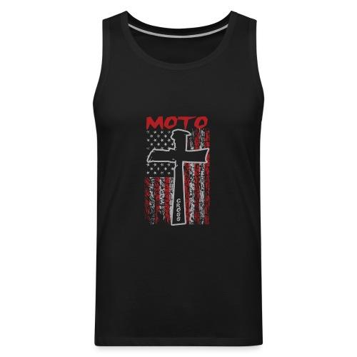 Motocross Christian - Men's Premium Tank