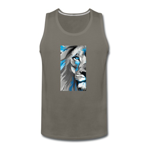 Blue lion king - Men's Premium Tank
