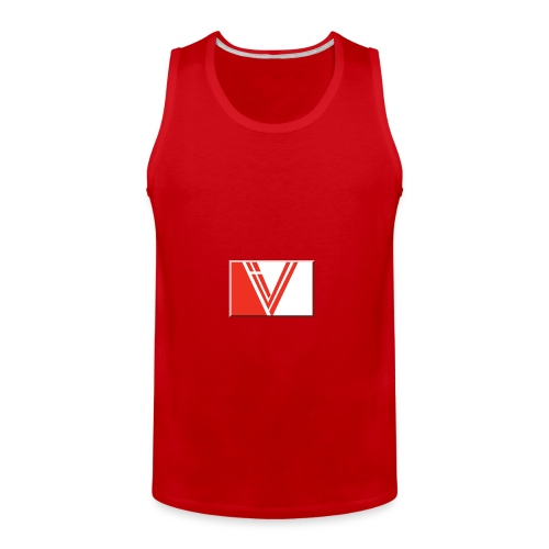 LBV red drop - Men's Premium Tank