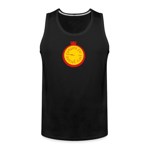 compete every second - Men's Premium Tank