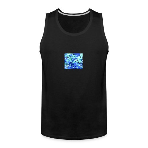 MTP Blue shop preview - Men's Premium Tank