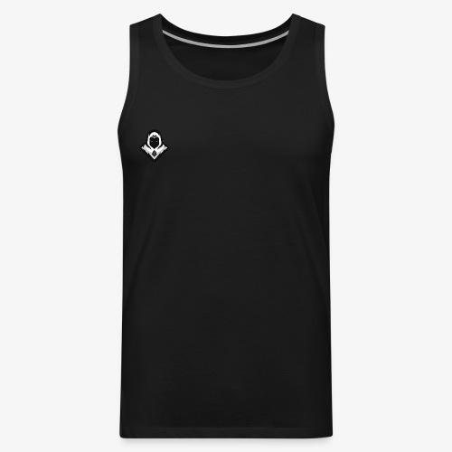 Ghost (Crao's Old Logo) - Men's Premium Tank