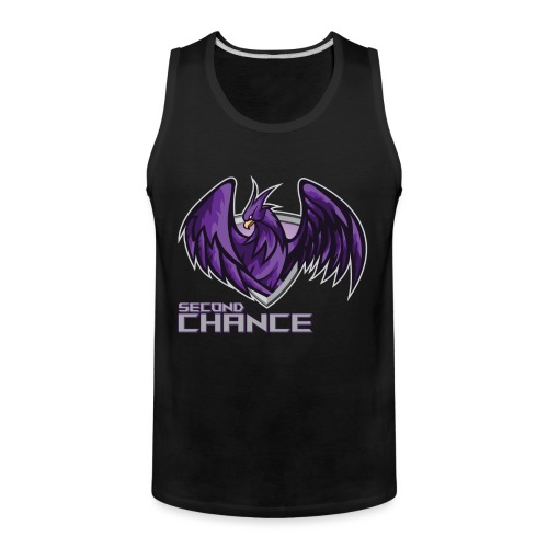 Second Chance Text Only - Men's Premium Tank
