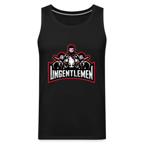 Ungentlemen Text Logo - Men's Premium Tank