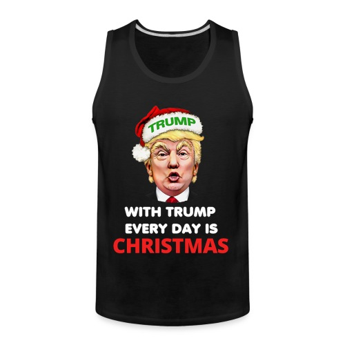 Trump Funny Christmas Ugly Sweater - Men's Premium Tank