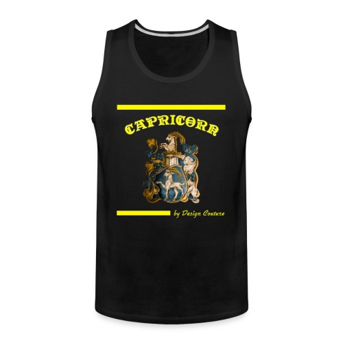 CAPRICORN YELLOW - Men's Premium Tank