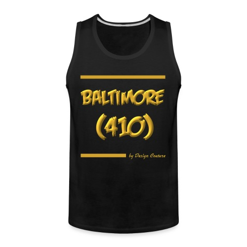 BALTIMORE 410 GOLD - Men's Premium Tank