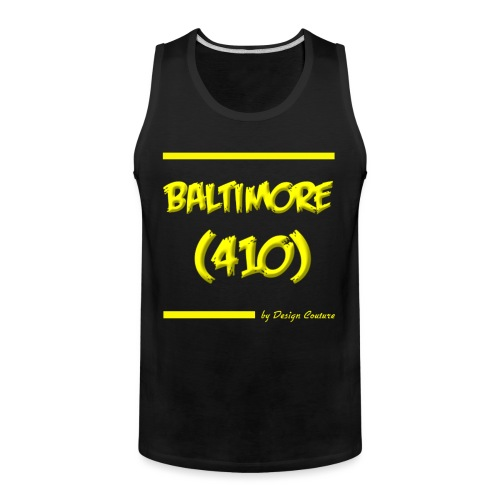 BALTIMORE 410 YELLOW - Men's Premium Tank