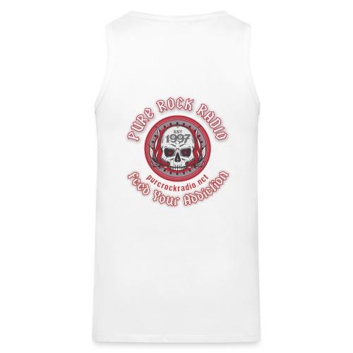 PRR Molenoise Skull (Front) + Circle Logo (Back) - Men's Premium Tank