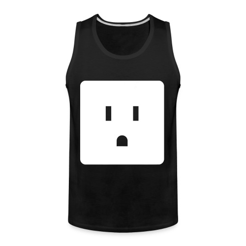 Funny Halloween Couples Costume Wall Outlet Female - Men's Premium Tank