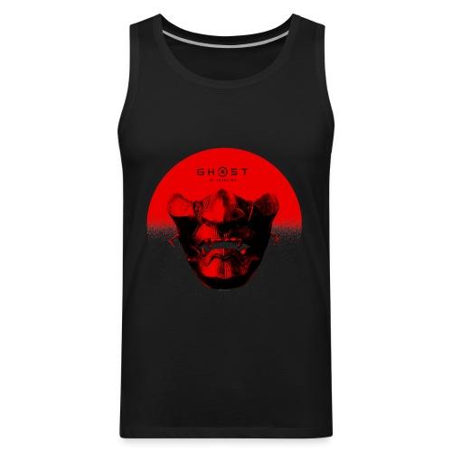 Ghost of Tsushima Half Sun Mask T Shirt - Men's Premium Tank
