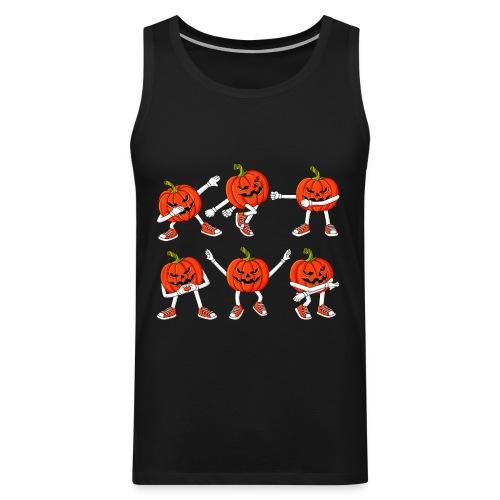 Dancing Jack O Lanterns Funny Halloween Boys Girls - Men's Premium Tank