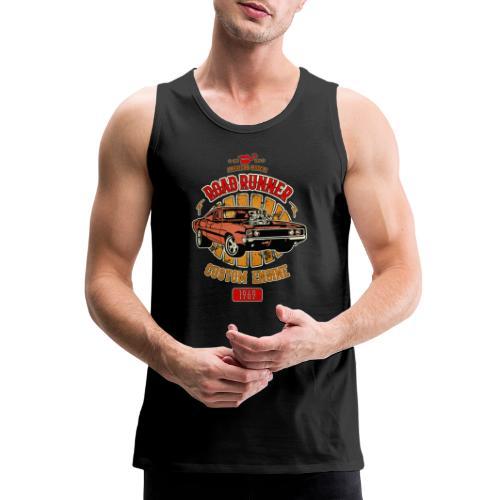 Plymouth Road Runner - American Muscle - Men's Premium Tank