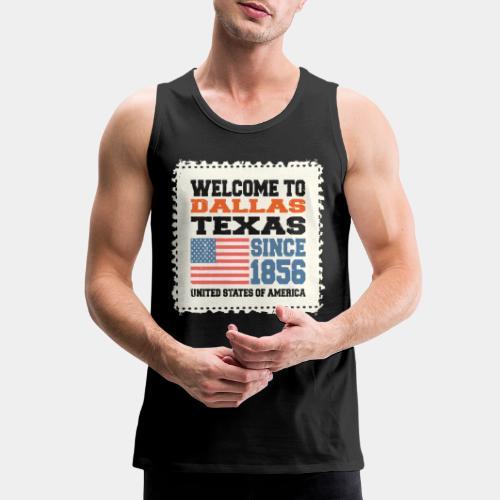 dallas texas usa - Men's Premium Tank