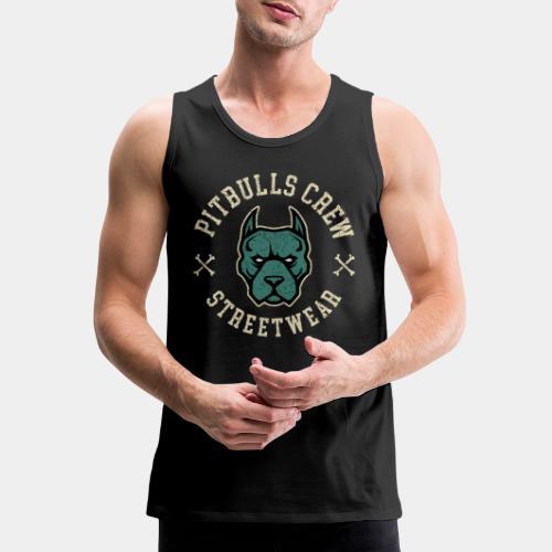 pitbull street - Men's Premium Tank