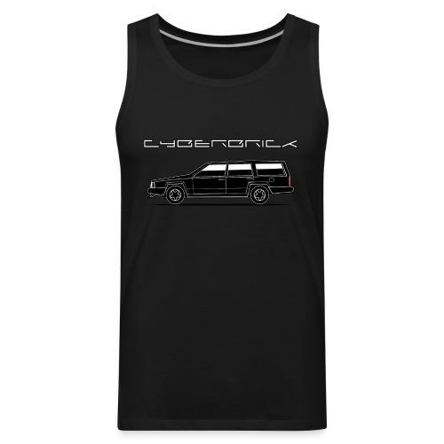 Cyberbrick Future Electric Wagon Black Outlines - Men's Premium Tank