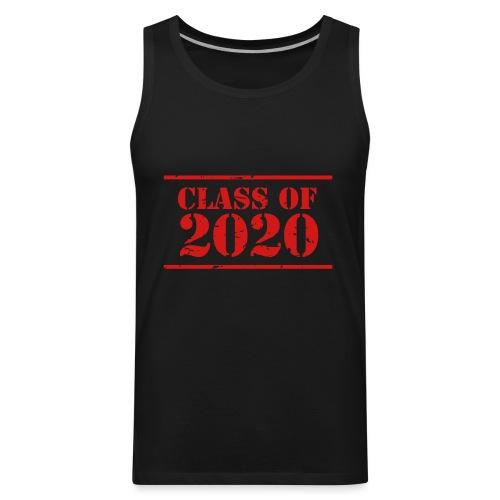 Class of 2020 stencil - Men's Premium Tank