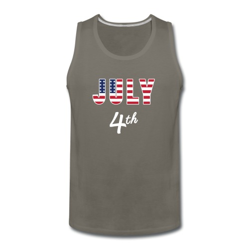 July 4th - Men's Premium Tank