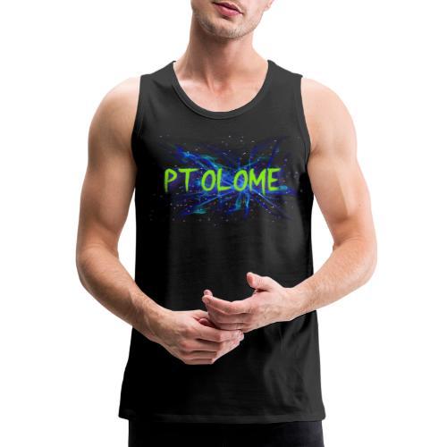 Ptolome Galaxy logo - Men's Premium Tank