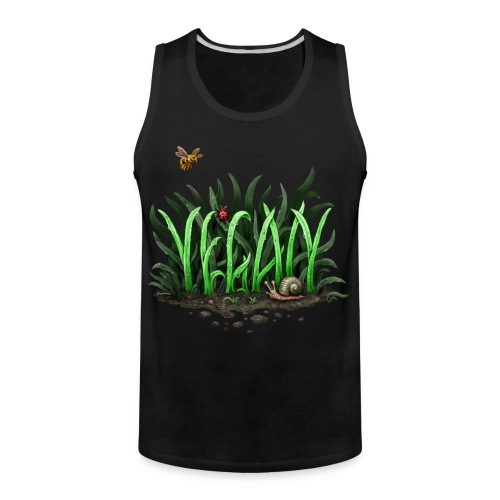 grow vegan - Men's Premium Tank