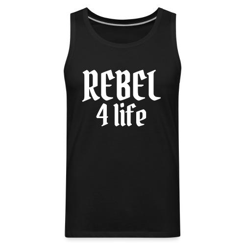 REBEL 4 life - Men's Premium Tank