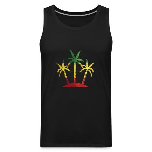 Palm Tree Reggae - Men's Premium Tank