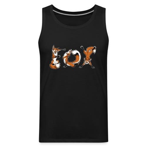 YOGA Foxes - Men's Premium Tank