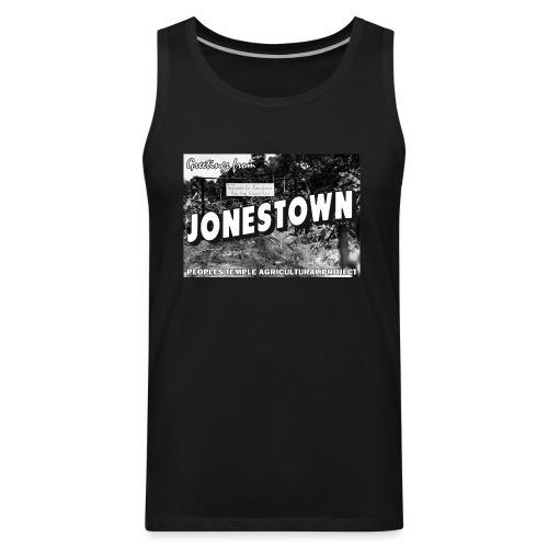 Jonestown Postcard - Men's Premium Tank