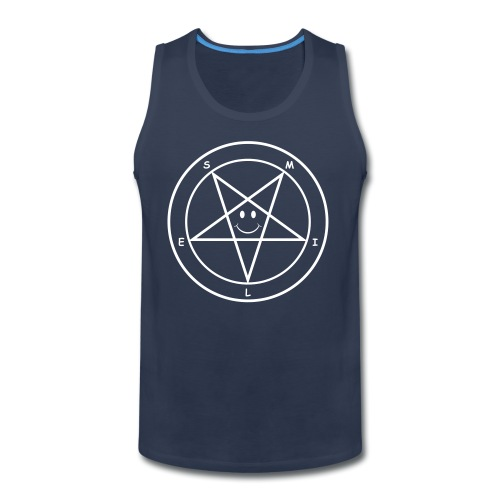 Smile Pentagram - Men's Premium Tank