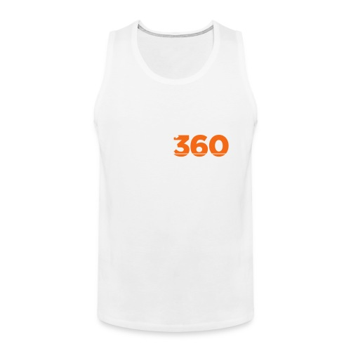 Move360 Logo LightGrey - Men's Premium Tank