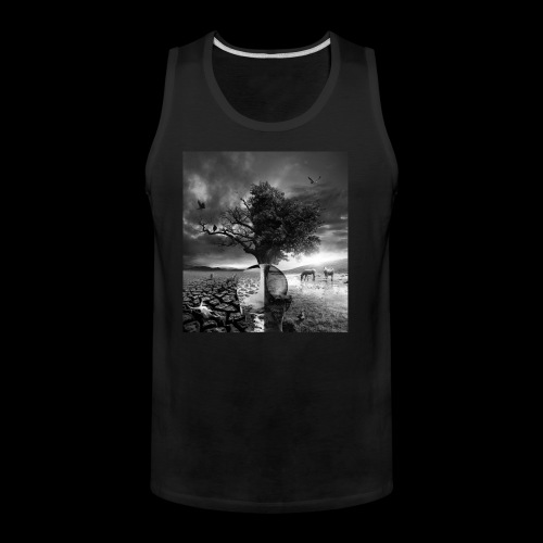 Life and Death - Men's Premium Tank