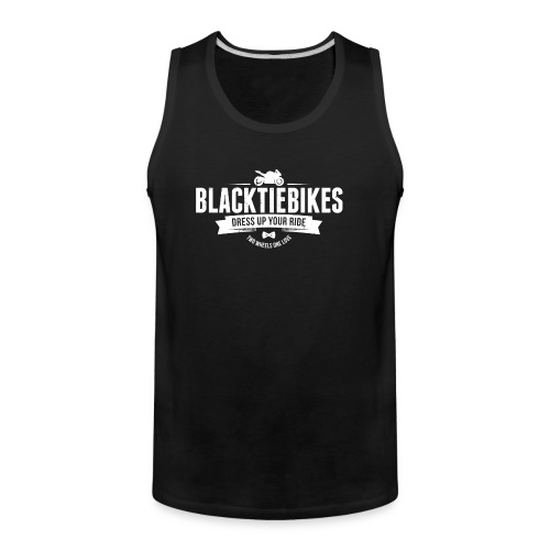 BlackTieBikes Logo - Men's Premium Tank