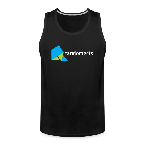 RA LOGO White text - Men's Premium Tank