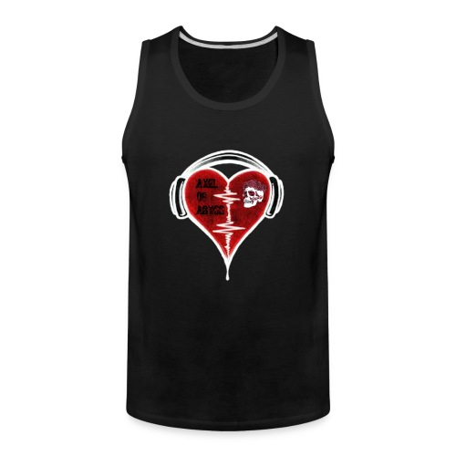 Axelofabyss Music in your heart - Men's Premium Tank